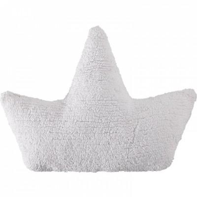 Coussin enfant bateau blanc (45 cm)