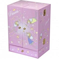 Armoire � bijoux musicale princesse  - Trousselier