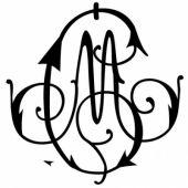 Gravure d'initiales sur orfèvrerie (modèle 76) - Atelier de gravure