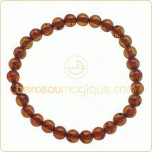 Bracelet élastique d'Ambre   par Berceau magique bijoux