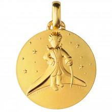 Médaille Le Petit Prince dans les Etoiles (or jaune 750°)  par Monnaie de Paris