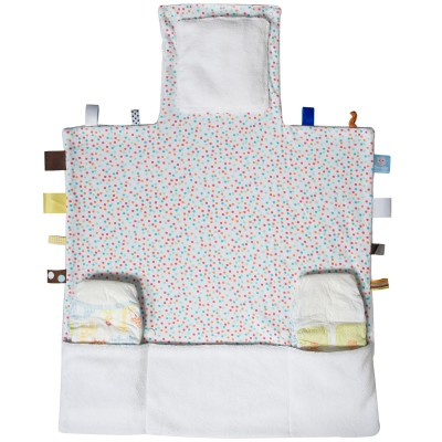 Tapis Langer Easy Changing Confetti White Snoozebaby