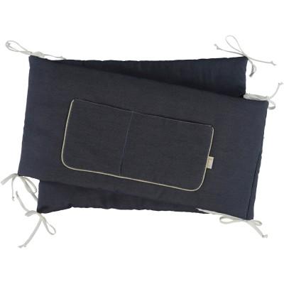 tour de lit gaspard pour lits 60x120 et 70x140cm. Black Bedroom Furniture Sets. Home Design Ideas