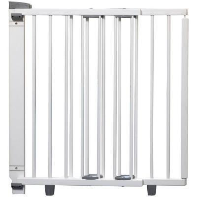 Barrière de sécurité blanche pour porte (68 à 109 cm)