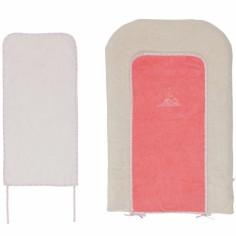 Matelas � langer Daisy et Coco + 2 serviettes (45 x 70 cm) - Noukie's