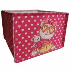 Bo�te de rangement coeur rose - Pouli Pouly