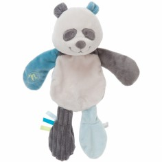 Doudou plat platso Scott le panda - Noukie's