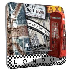 Interrupteur d�cor� simple London phone - DKO Interrupteur