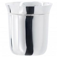 Timbale �vas�e perles (argent massif 925�) - Aubry Cadoret