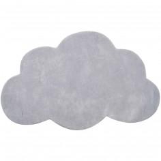 tapis coton nuage blanc by sophie cordier 64 x 100 cm. Black Bedroom Furniture Sets. Home Design Ideas