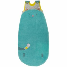 Gigoteuse chat bleu Les Pachats (90/110 cm) - Moulin Roty