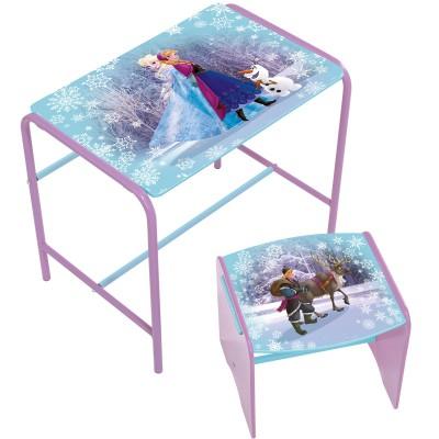 bureau et tabouret premium la reine des neiges room studio. Black Bedroom Furniture Sets. Home Design Ideas