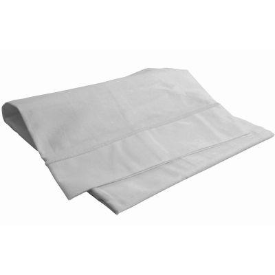 taie d 39 oreiller gris perle 40 x 60 cm doux nid. Black Bedroom Furniture Sets. Home Design Ideas