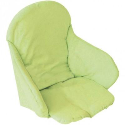 Coussin de chaise vert fluo