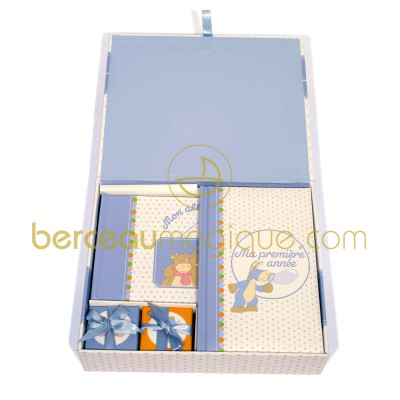 pin coffret souvenirs de ma naissance lila moulin roty on. Black Bedroom Furniture Sets. Home Design Ideas