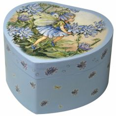 Bo�te � bijoux musicale Coeur Oeillets Fairies - Trousselier