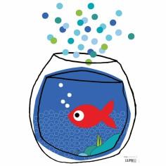 Stickers les carpes ko poisson bulle berceau magique - Code promo berceau magique frais port ...
