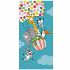 Tableau un tour en ballon (38 x 78 cm) - S�rie-Golo