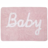 Tapis fille souple rose Baby (120 x 160 cm) - Lorena Canals