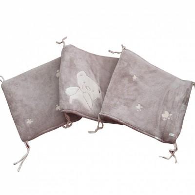 tour de lit ourson pour lits 60 x 120 cm et 70 x 140 cm. Black Bedroom Furniture Sets. Home Design Ideas