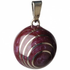 Bola spirale aubergine - Babylonia