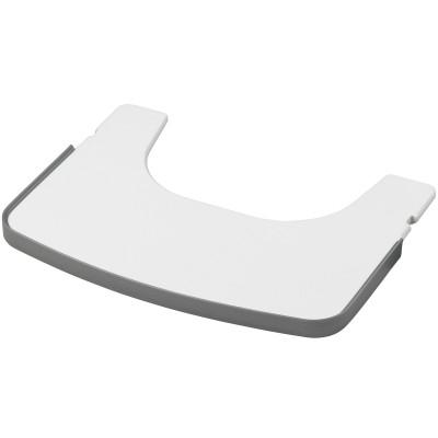 Tablette pour chaise haute tamino bois blanc