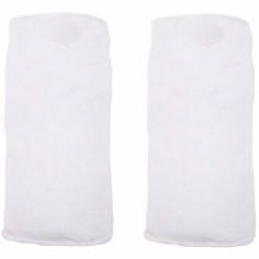 Couverture d'emmaillotage Gro swaddle blanc (lot de 2)
