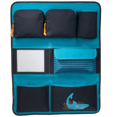 Vide-poche de voiture requin bleu