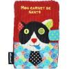 Prot�ge carnet de sant� Charlos le chat - Les D�glingos