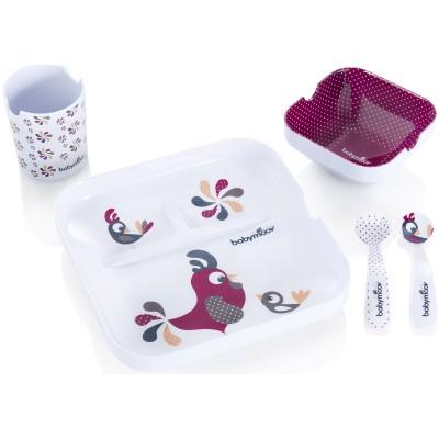 Coffret cadeau repas lovely bird (5 pièces)