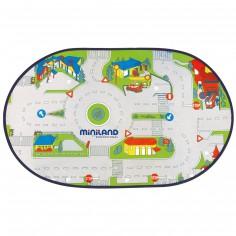 Circuit sur tapis de jeu - Miniland