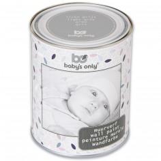 Berceau magique cadeaux et quipement pour b b peinture for Peinture murale grise