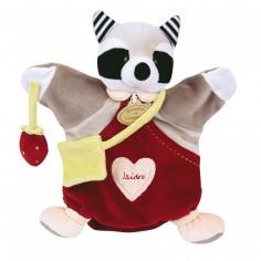 Doudou marionnette Isidro le raton laveur - Doudou et Compagnie