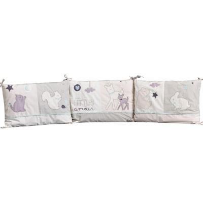 tour de lit noisette pour les lits 120 x 60 et 140 x 70 cm. Black Bedroom Furniture Sets. Home Design Ideas