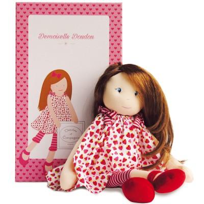 Poupée en tissu Les demoiselles à coiffer Charlotte (40 cm)