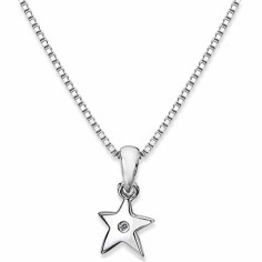 Collier Pippa (argent 925� et diamant)  - Lily and Lotty Girls by Balticambre