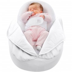 Couverture l�g�re Cocoonacover blanche - Red Castle