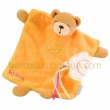 Doudou ours fleur d'abricot  par Kaloo