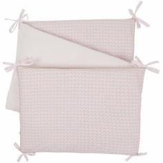 Tour de lit veloudoux Daisy et Coco (pour lits 60 x 120 cm et 70 x 140 cm) - Noukie's