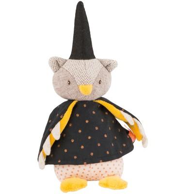 Mini poupée souple hibou le Magicien Il était une fois (20 cm)