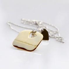 Collier avec pendentif Dream (argent 925� et argent plaqu� or jaune) - BeA legami preziosi