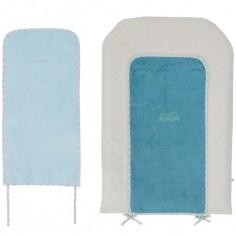 Matelas � langer Louis et Scott + 2 serviettes (45 x 70 cm) - Noukie's