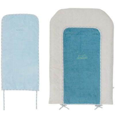Matelas à langer louis et scott + 2 serviettes (45 x 70 cm)