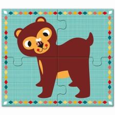 Puzzles Rigolo n'co (16 pi�ces) - Djeco