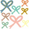 Transfert textile Noeuds - Mimi'lou