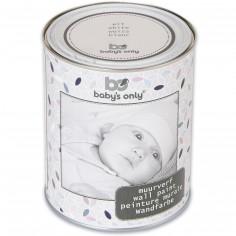 Berceau magique cadeaux et quipement pour b b peinture for Peinture murale blanche