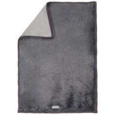 Couverture grosloudoux Poudre d'�toiles gris (100 x 140 cm) - Noukie's