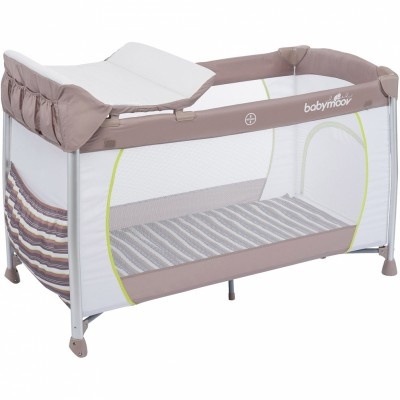 lit parapluie curve dream taupe et amande babymoov. Black Bedroom Furniture Sets. Home Design Ideas