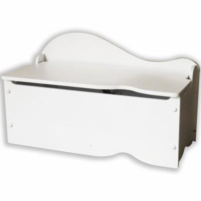coffre jouets austin blanc kidkraft coffre jouets banc berceau magique. Black Bedroom Furniture Sets. Home Design Ideas