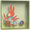 Tableau relief Famille lapin - Little big room by Djeco